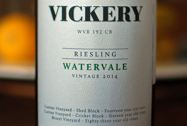 vickery riesling